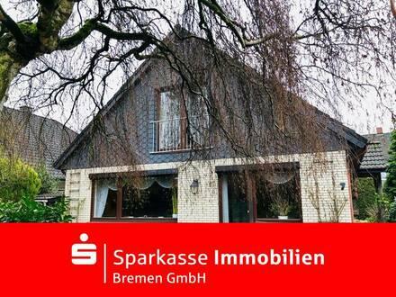 Großzügiges gepflegtes Ein- bis Zweifamilienhaus in ruhiger und bevorzugter Wohnlage in Obervieland
