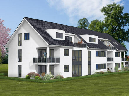 NEU! Schicke Neubauwohnung mit überdachtem Balkon in Bad Oeynhausen-Südstadt!!