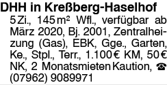 DHH in Kreßberg Haselhof