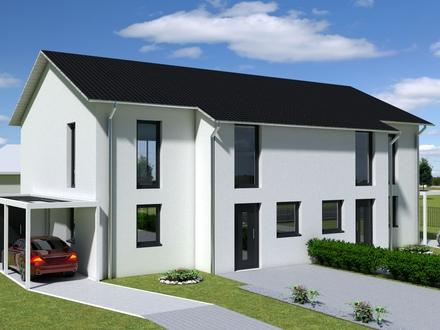 Neubau Doppelhaushälfte in Strausberg bezugsfertig im Juli 2020!