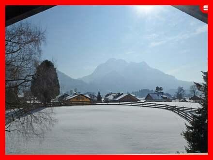 Wohnen mit Berg- und Schlossblick