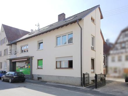 Vermietetes Mehrfamilienhaus in Eschelbronn!