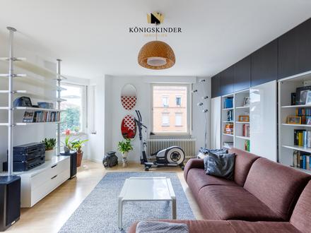 * Sanierte 5-Zimmer-Etagenwohnung in beliebter Wohnlage von Bad Cannstatt - sofort beziehbar *