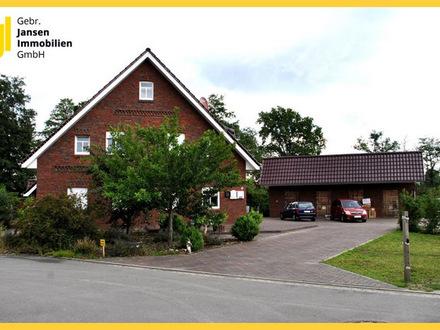 Neuwertiges Fehnhaus mit drei Wohneinheiten in idyllischer Sackgassenlage von Rhauderfehn-Burlage!
