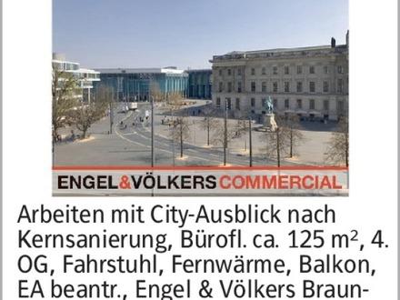 Arbeiten mit City-Ausblick nach Kernsanierung, Bürofl. ca. 125 m², 4. OG,...