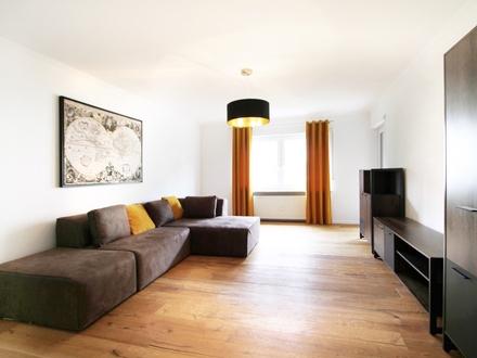 Schöne 4-Zi.-Wohnung mit West-Balkon, in Top-Lage in Landshut-West, mit EBK, TG