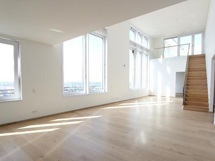 Drei-Zimmer Penthouse über zwei Ebenen mit Dachterasse