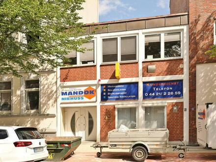 TT Immobilien bietet Ihnen: Wohnen und Gewerbe unter einem Dach - mitten in Wilhelmshaven!