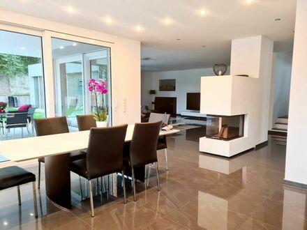3 0 0 qm BAUHAUSVILLA aus 2018 gleich am Rednitzgrund mit luxuriöser Gesamtausstattung