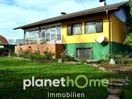 Bezugsbereites Einfamilienhaus in erhöhter Siedlungsrandlage