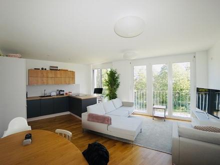 NEUBAU SOFORTBEZUG: 3,5-Zimmer Maisonette-Dachterrassenwohnung mit Bergblick