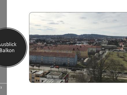 3 Zimmer Maisonettewohnung mit tollem Ausblick über Bamberg