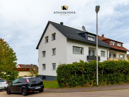 Gemütliche 3 Zimmer Wohnung mit Einzelgarage und zusätzlichem PKW Stellplatz