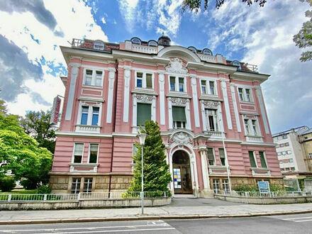 Villach - Innere Stadt: Büroräumlichkeiten in prestigeträchtigem Gebäude im 2.OG mit Lift