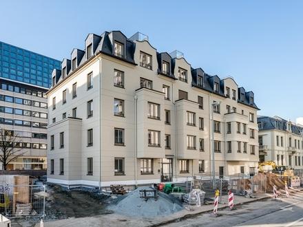 Wohnen am Mainufer // Erdgeschosswohnung mit hochwertiger EBK & Terrasse