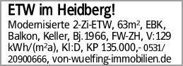 ETW im Heidberg!