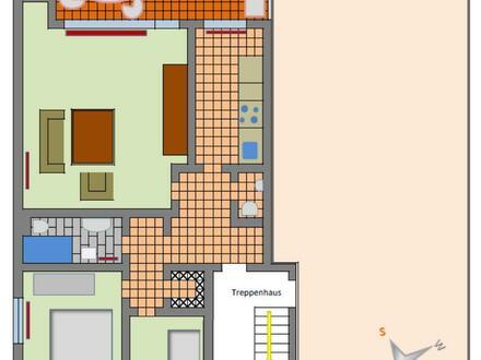 Großzügige 3-Zimmerwohnung