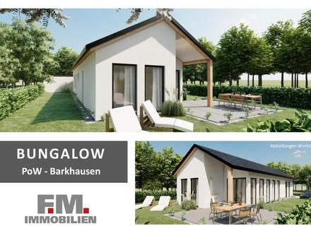 Baustart in Kürze - F.M. Bungalow in Tempo-30-Zone in Barkhausen