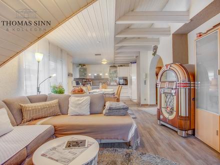 Schicke 2 Zimmer DG-Wohnung mit riesiger Dachterrasse