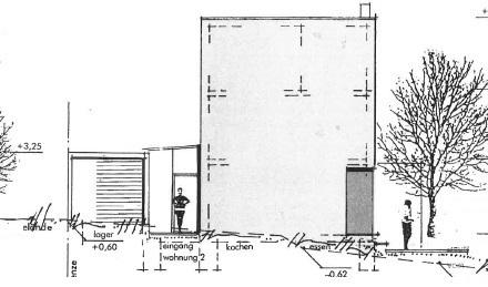 Modernes Architektenhaus mit Dachterrasse und Carport am Stadtrand von Weiden