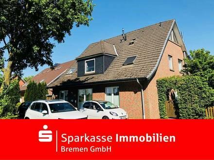 Pfiffige Maisonettewohnung in ruhiger Wohnlage in Weyhe-Leeste
