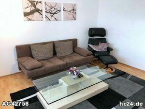 Möblierte 2-Zimmer Wohnung nahe Forchheim mit Gartenbenutzung