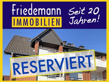 RESERVIERT - Helle 3 Zimmer-Maisonette-ETW mit Südbalkon und Pkw-Stellplatz in Bad Oeynhausen – Südstadt