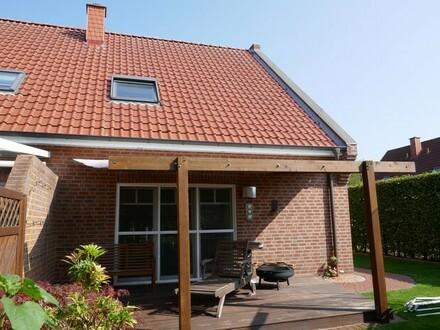 Gepflegte Doppelhaushälfte mit Carport in Papenburg