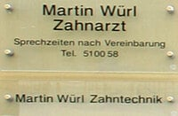 Würl Martin, Zahnarzt