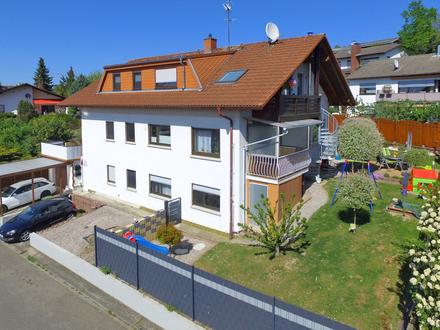 Schöne 3-Zimmer-Dachgeschosswohnung mit Balkon