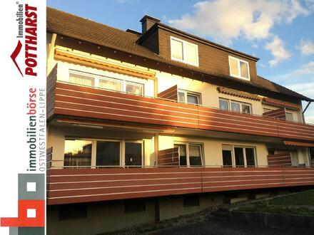 Gemütliche Single-Dachgeschosswohnung in Herford!