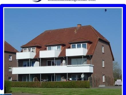 2 Zimmer Oberwohnung mit Balkon und EBK in Stadtrandlage