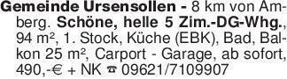 Gemeinde Ursensollen - 8 km vo...
