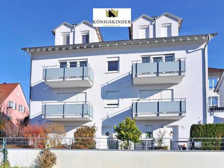 Helles möbliertes 1-Zimmer-Appartement mit Balkon und TG-Stellplatz