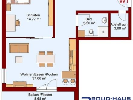 Top-Wohnung mit Weitblick
