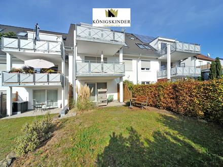 Ein Traum! Großzügige 2-Zimmerwohnung mit Garten und moderner Einbauküche in Esslingen-Rüdern