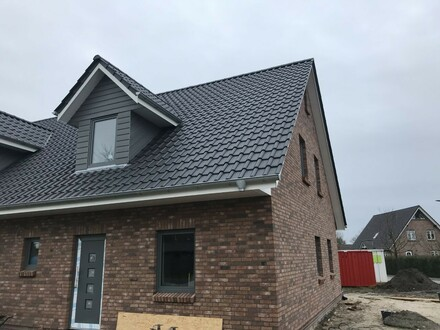 Großzügige Neubau DHH mit 4 Zi. Nähe Niebüll, Nordfriesland