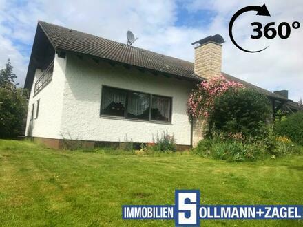 Ein-/Zweifamilien-Wohnhaus mit großem Grundstück