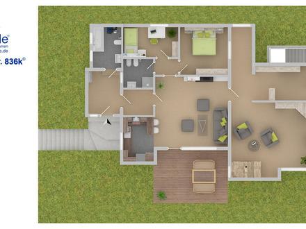 Heimeliges Haus mit sehr großem eigenem Grundstück
