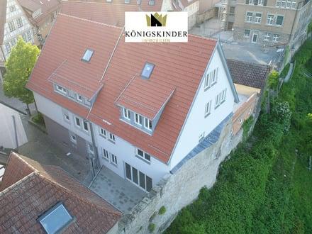 NEUBAU - 3-Zi.-Maisonette-WHG über den Dächern der historischen Altstadt mit traumhafter Dachloggia