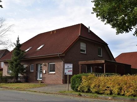 Objekt Nr. 19/829 Reizvolle DHH mit Carport im Feriengebiet Saterland - OT Scharrel