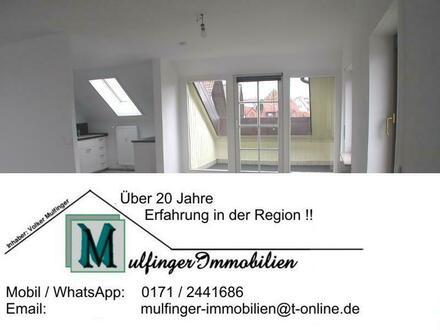 3 Zi. Wohnung im DG mit Loggia in Höchstadt Süd