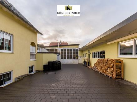 Ideal für Wohn-und Gewerbenutzung unter einem Dach! Werkstatt, Atelier, Büro, Handel, Gastronomie