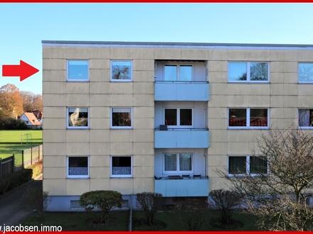 Zur Eigennutzung oder als Kapitalanlage - Stadtnahe 2-Zimmer-Wohnung in guter Lage Schleswigs