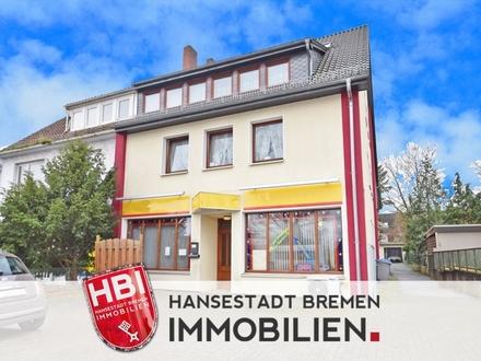 Gröpelingen / Attraktives Mehrfamilienhaus mit Gewerbeeinheit