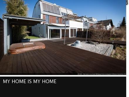 LEOPOLDSKRON | Erholung? Zu Hause? Luxus-Doppelhaushälfte in perfekter Lage mit Ausblick