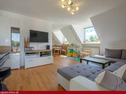Endlich Platz für Ihre Familie: 4-5 Zimmer-Wohnung mit großem Gemeinschaftsgarten in Forstenried.