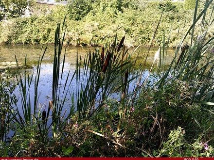 Landwirtschaftsfläche mit Perspektive: Fischweiher, Bachlauf und Wäldchen für Kapitalanleger