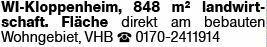 Wohnen in WI-Kloppenheim (65207)