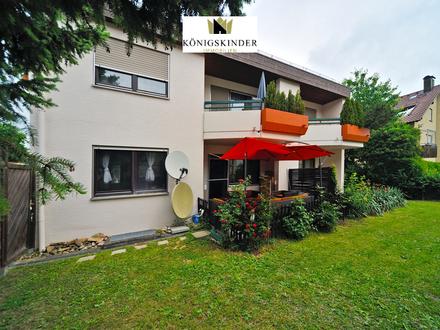 Schicke EG-Wohnung mit Terrasse und Garage in Filderstadt